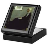 PBGV WHISTLER'S MOTHER Keepsake Box
