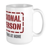 Professional HVAC Person Mug