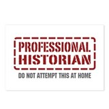 Professional Historian Postcards (Package of 8)