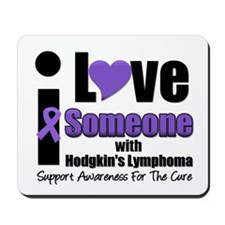 I Love Someone w/Lymphoma Mousepad
