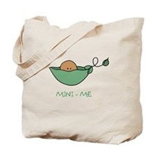mini me (darker skin) Tote Bag