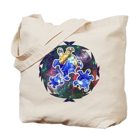Earth Turtles Tote Bag