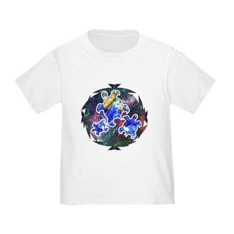 Earth Turtles Toddler T-Shirt