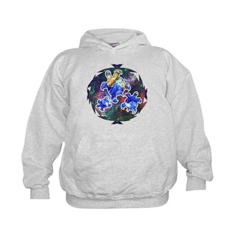 Earth Turtles Kids Hoodie