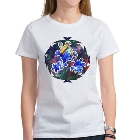 Earth Turtles Women's T-Shirt