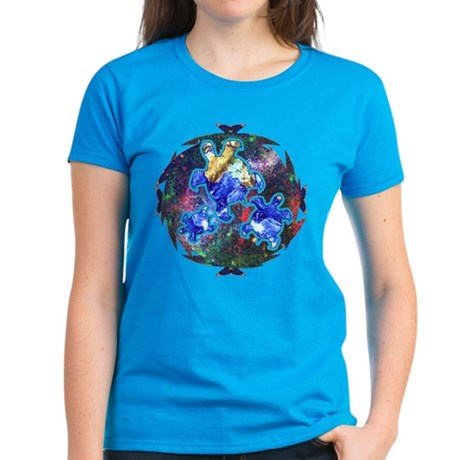 Earth Turtles Women's Dark T-Shirt