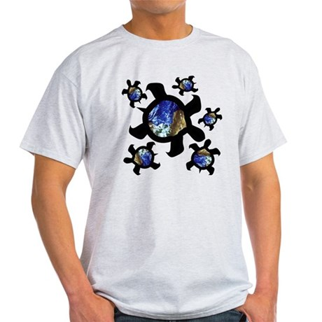 Earthly Turtles Light T-Shirt