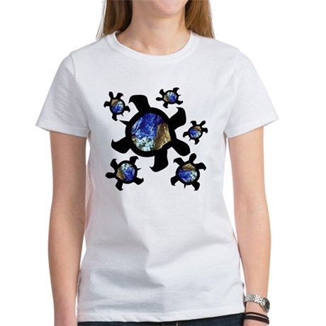 Earthly Turtles Women's T-Shirt