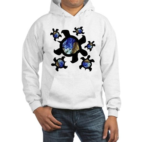 Earthly Turtles Hooded Sweatshirt