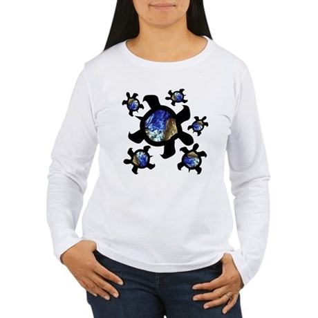 Earthly Turtles Women's Long Sleeve T-Shirt