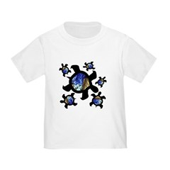 Earthly Turtles Toddler T-Shirt