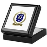 CHARBONNEAU Family Crest Keepsake Box