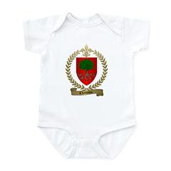 CHAISSON Family Crest Infant Creeper