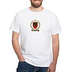 CHAISSON Family Crest White T-Shirt