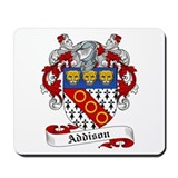 Addison Family Crest Mousepad