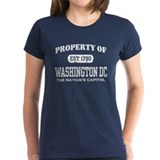 Property of Washington DC Tee