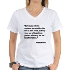 Norris Criticism Quote (Front) Shirt