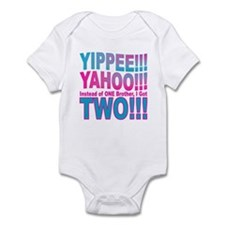 Yippee Twins - Brothers Infant Bodysuit