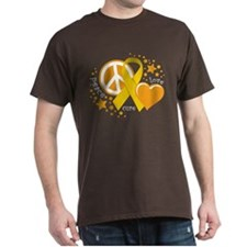 CC Peace Love Cure T-Shirt