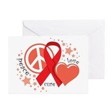 HIV/AIDS PLC Greeting Cards (Pk of 10)