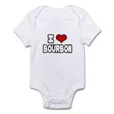 """""""I Love Bourbon"""" Infant Bodysuit"""