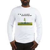 Cool Pixels Long Sleeve T-Shirt