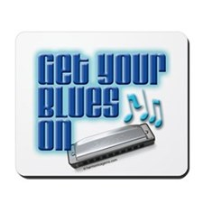 Get Your Blues On! Mousepad