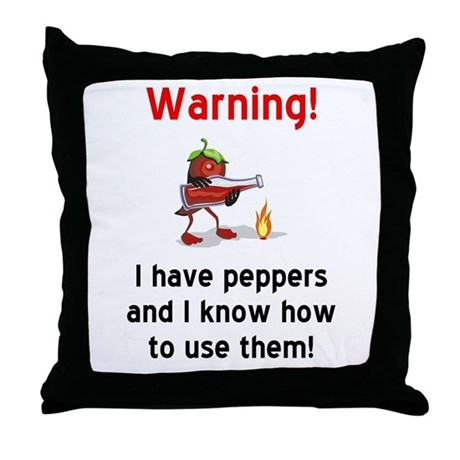 Chef or Cook Throw Pillow