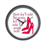 Sexy Shoe Humor Wall Clock