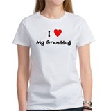 I Heart My Granddog Tee