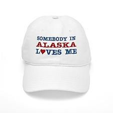Somebody in Alaska Loves Me Baseball Cap