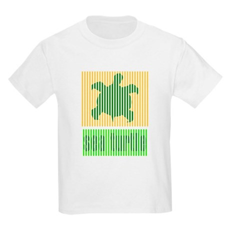 Bar Code Turtle Kids Light T-Shirt