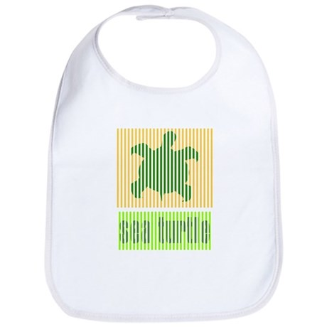 Bar Code Turtle Bib