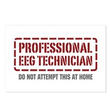 Professional EEG Technician Postcards (Package of