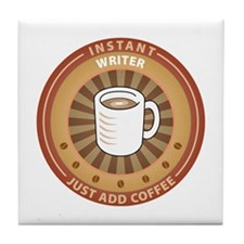 Instant Writer Tile Coaster