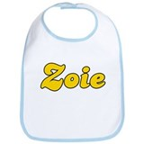 Retro Zoie (Gold) Bib