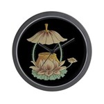 Chinese Blossoms Wall Clock