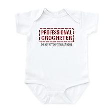 Professional Crocheter Infant Bodysuit