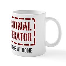 Professional Crane Operator Small Mug