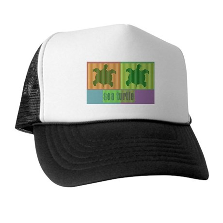 Bar Code Turtle Trucker Hat