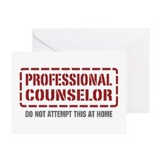 Professional Counselor Greeting Card