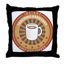 Instant Teaching Assistant Throw Pillow