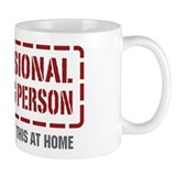 Professional Cleaning Person Mug