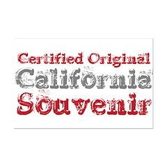 Certified California Souvenir Mini Poster Print