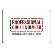 Professional Civil Engineer Banner