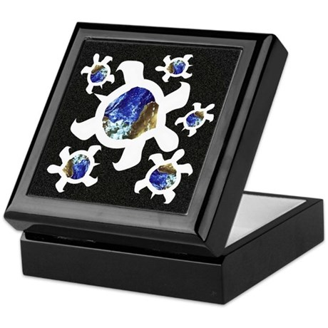Earthly Turtles Keepsake Box