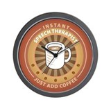 Instant Speech Therapist Wall Clock