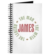 James Man Myth Legend Journal