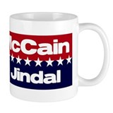 McCain Jindal Small Mugs