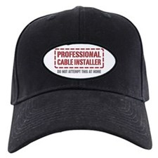 Professional Cable Installer Baseball Hat